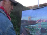 On location with Artist Anthony Holdsworth — at The Golden Gate Bridge | Postcards from SF