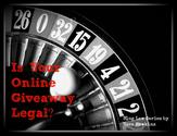 Sweepstakes, Contests & Giveaway Laws for Bloggers & Brands