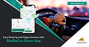 Choose carpooling and go green with a BlaBlaCar clone