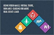 How Video Mails, Virtual Tours, RON, get more real estate leads during Covid 19