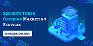 STO Marketing Services| Security Token Offering Marketing Agency