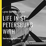 Love the colors of life in St. Petersburg with Sunwing Airlines