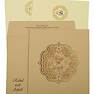 Get the latest laser cut wedding invitations