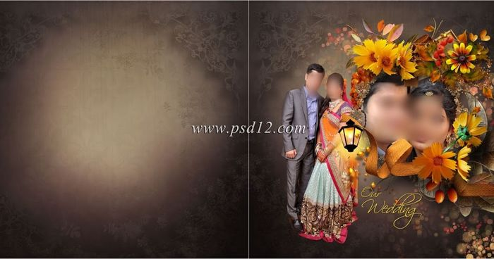 Photoshop Wedding Photo Album Designs You Would Like To Use