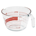 Amazon.com: Pyrex 8-Cup Measuring Cup, Read from Above Graphics: Kitchen & Dining