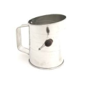 Norpro,Inc. 3 Cups Crank Tin Sifter 136: Amazon.com: Kitchen & Dining