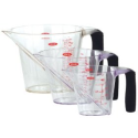 OXO Good Grips 3-Piece Angled Measuring Cup Set: Amazon.com: Kitchen & Dining