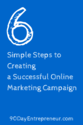 6 Simple Steps to Creating a Successful Online Marketing Campaign