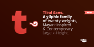 Free Font Tikal Sans by Latinotype | Font Squirrel