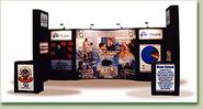 Displays Graphics for Trade Shows in Honolulu