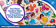 Use These Creative Ways to Promote Your Brand Using Puffy Stickers