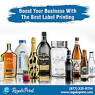 Boost Your Business with the Best Label Printing | RegaloPrint