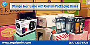 Packaging Box Printing — Change Your Game with Custom Packaging Boxes