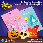 Get 25% Discount On Puffy Stickers With Free Graphics | Regaloprint