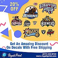 Get 20% Discount On Decals With Free Shipping at RegaloPrint
