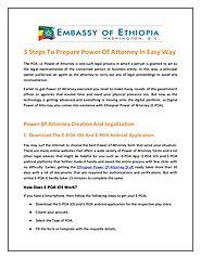power of attorney form ethiopian embassy  Ethiopian Power Of Attorney App | A Listly List