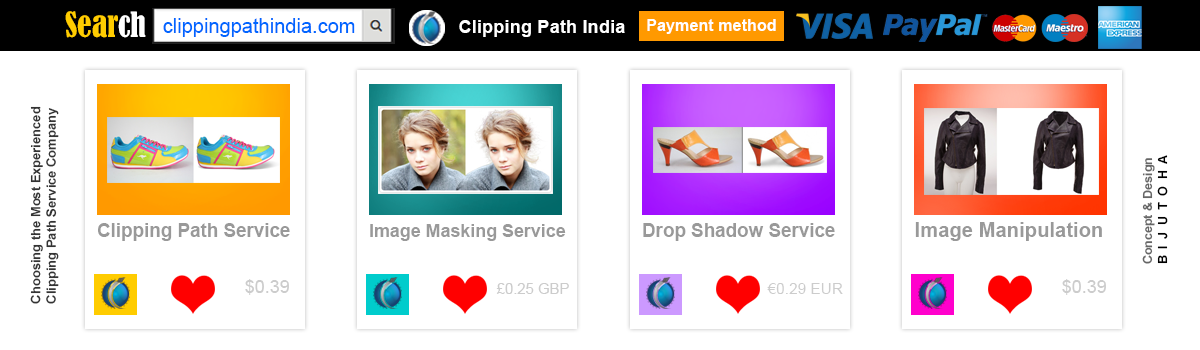 Headline for Clipping Path India