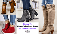 Step up To Women's Designer Shoes For The Hot Chic Look
