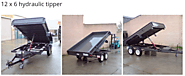 Hydraulic Tipper & Lift Trailers in Melbourne