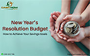 New Year's Resolution Budget