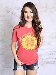 Soak Up The Sun Tee - Beautiful Graphic Tee For College Teens