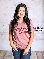 Beer Babe Tee | Southern Honey Boutique
