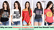 Why we Love Women's Graphic Tees (and You Should Too!)