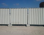 Fencing In UAE | Temporary Fencing In Dubai | Metal and Machine