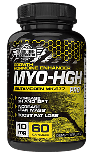 Keebo Sports Supplements HardcoreSeries MyoHGH Increase GH & IGF1