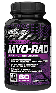 Hardcore Series MYO-RAD (RAD 140) Testolone Buy Sarms