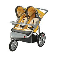 InStep Grand Safari Swivel Wheel Double Jogger