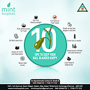 Best Multispeciality Hospital in Chennai Tips to Keep Your Gall Bladder happy