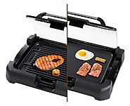 Secura GR-1503XL 1700W Electric Reversible 2 in 1 Grill Griddle - Kitchen Things