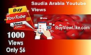 Saudia Arabia Youtube Views | Buy Views Like