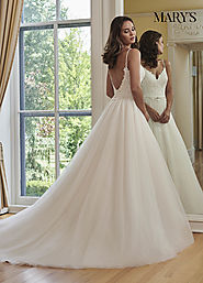 Bridal Wedding Dresses | Style - MB3059 in Ivory/Sand, Ivory, or White Color