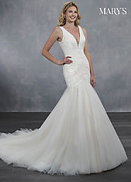 Bridal Wedding Dresses | Style - MB3067 in Ivory/Champagne, Ivory, or White Color