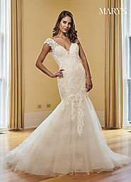 Bridal Wedding Dresses | Style - MB3048 in Ivory/Champagne, Ivory, or White Color