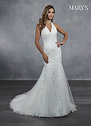 Bridal Wedding Dresses | Style - MB3062 in Ivory or White Color