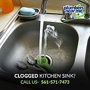 Unclog a Kitchen Sink - Plumbers Near Me