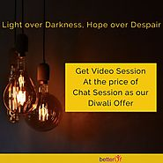 Happy Diwali - Get Video Sessions at the price of Chat Sessions