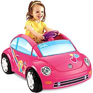 Fisher-Price Power Wheels Barbie Volkswagen Beetle