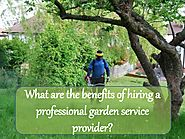 Benefits of hiring professional garden services