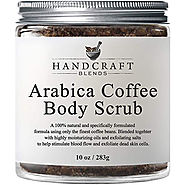 100% Arabica Coffee Body Scrub