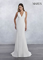 Bridal Wedding Dresses | Style - MB1026 in Ivory or White Color