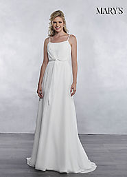 Bridal Wedding Dresses | Style - MB1029 in Ivory or White Color