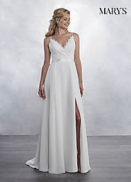 Bridal Wedding Dresses | Style - MB1025 in Ivory or White Color