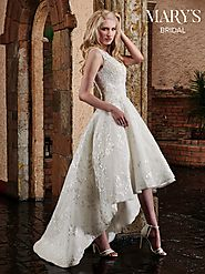 Bridal Wedding Dresses | Style - MB3028 in Ivory or White Color