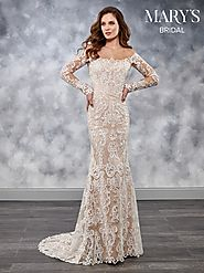 Bridal Wedding Dresses | Style - MB3031 in Ivory/Nude, Ivory, or White Color