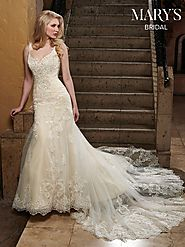 Bridal Wedding Dresses | Style - MB3030 in Ivory/Champagne, Ivory, or White Color