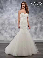 Bridal Wedding Dresses | Style - MB3041 in Ivory or White Color